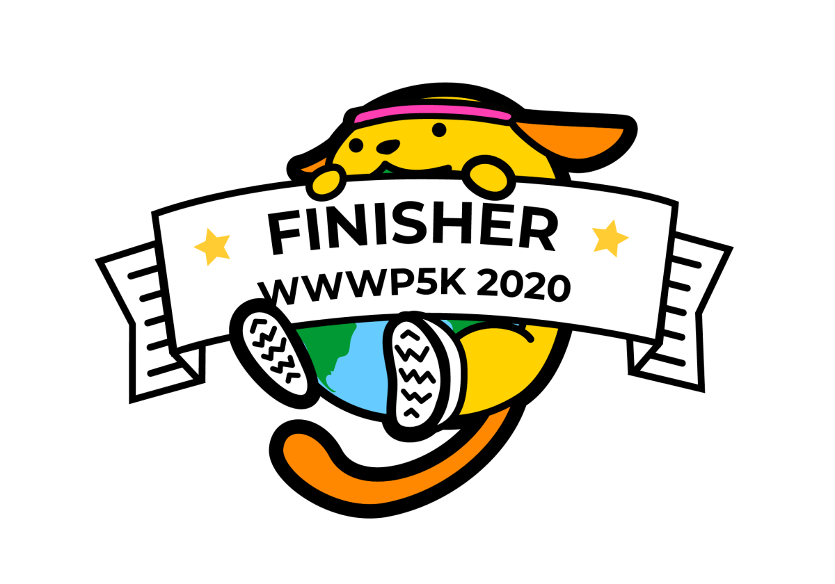 wwwp5k race finisher logo