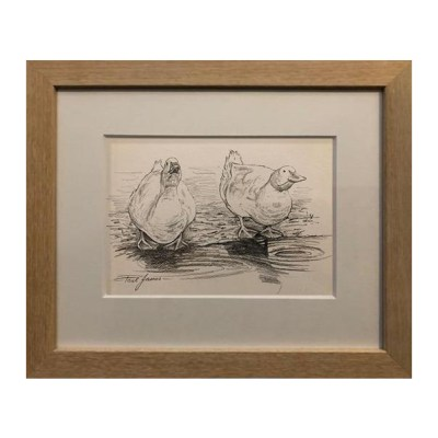 Duck Original Sketch Paul James