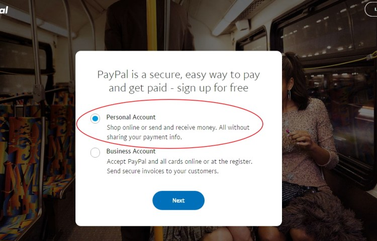PERSONAL PAYPAL ACCOUNT USA PAYPAL