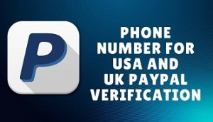 phone number for paypal verification