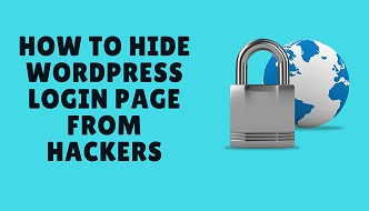 how to hide wordpress login page from hackers