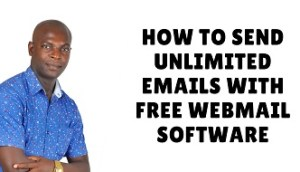 how to send unlimited emails with free webmail software
