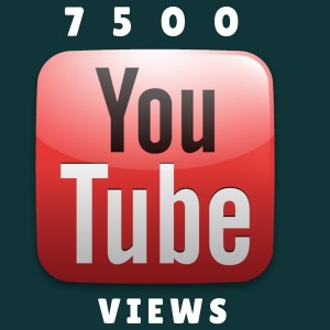 buy 7500 youtube views