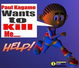 Paul Kagame kills children