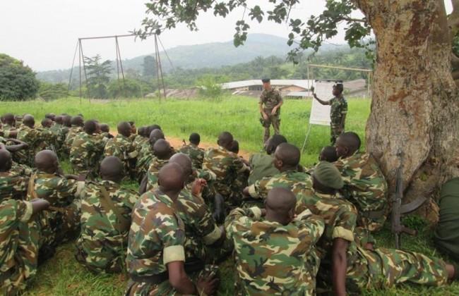 The National Defense forces of the country of mwezi gisabo and ntare rushatsi cambarantama