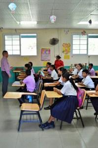 Public school in Panama: Seeking to achieve the American dream