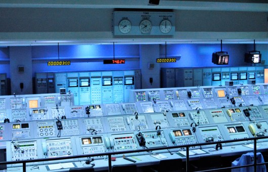 Apollo Mission Control sits empty now. Just like a lot of professional offices.