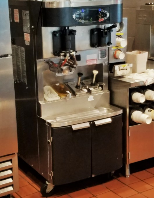 McDonald's Shaking Up It's Shake Machine?
