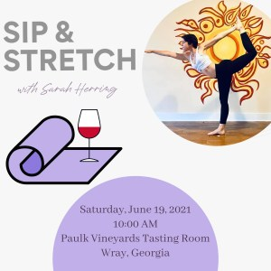 Sip & Stretch with Sarah Herring