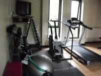 New Gym - RUnning Machine and Free Weights