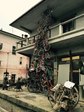 Torrent of bikes