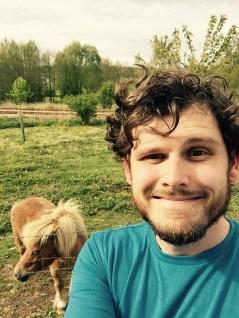 Found Little Sebastian in a French field