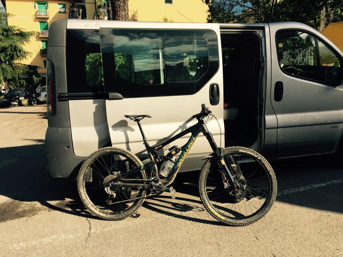 Sweet Santa Cruz endure bike