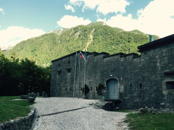 Trdnjava Fort near Bovec