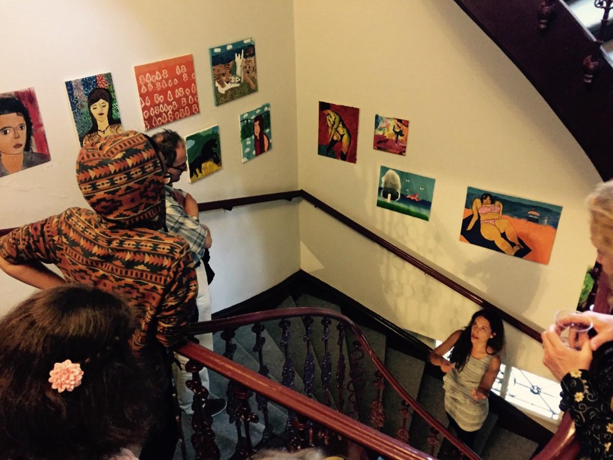 Young painters exhibition, Hostel Vila Viktorija
