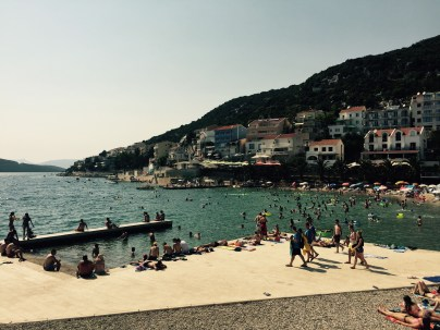 Seaside town Neum, Bosnia