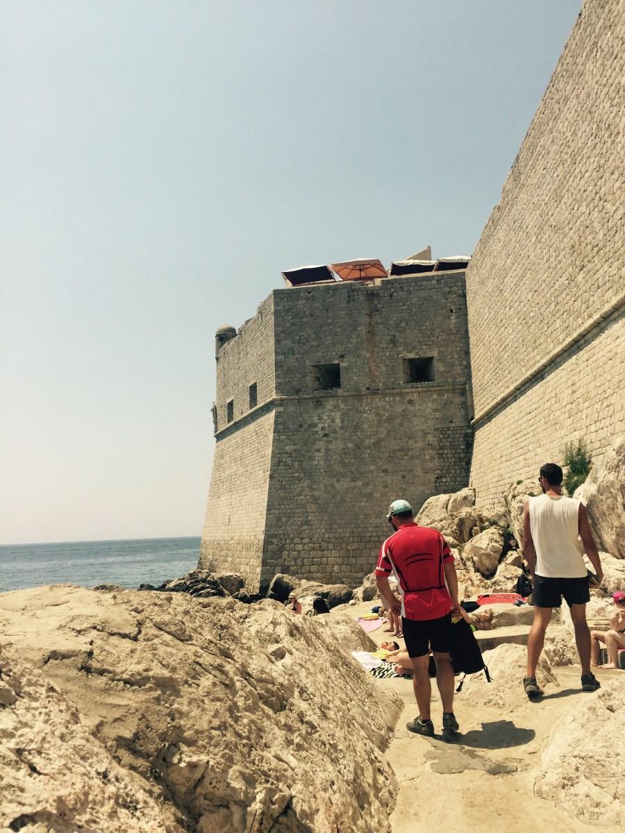 Old town walls, Dubrovnik, Croatia