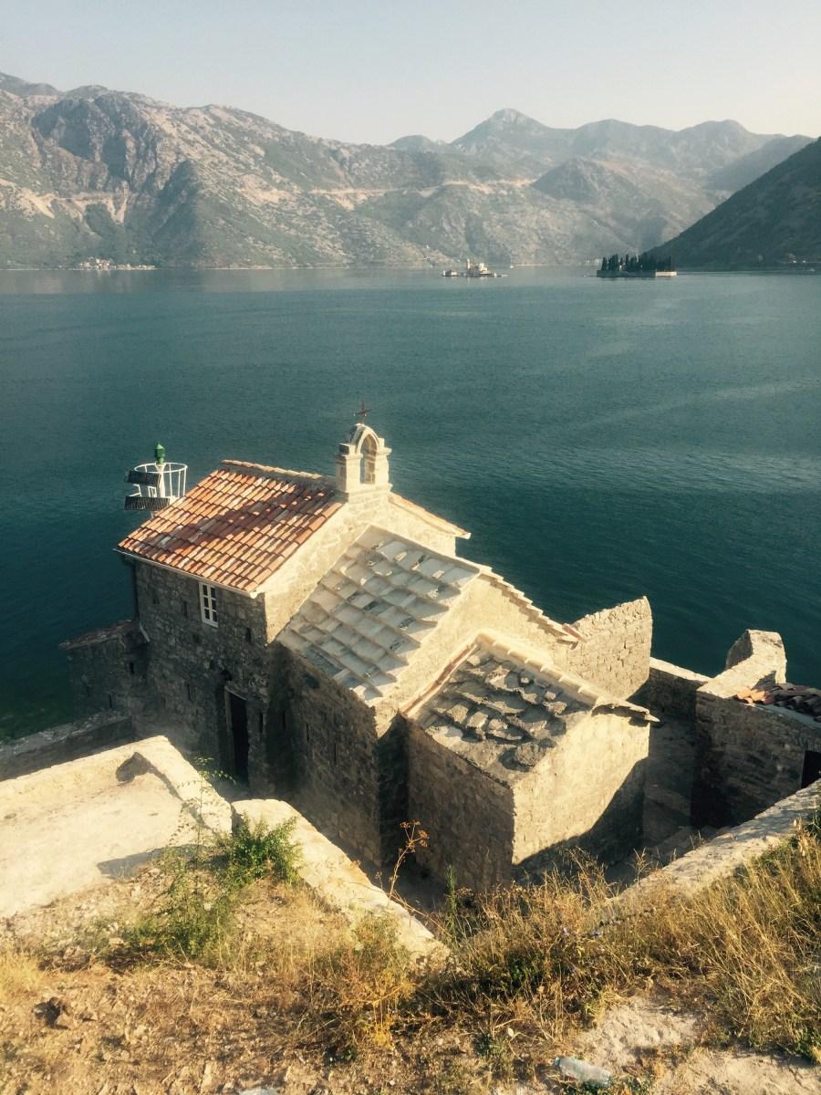 Old church bay of Kotor, Montenegro