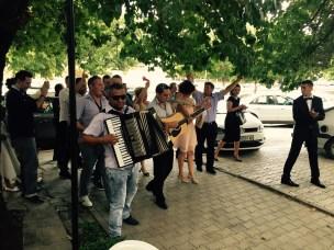 Wedding, fetching the bride, Negotino, Macedonia