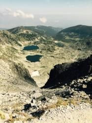 Summit view, Mt Musala, Bulgaria