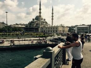 Fisherman, Istanbul