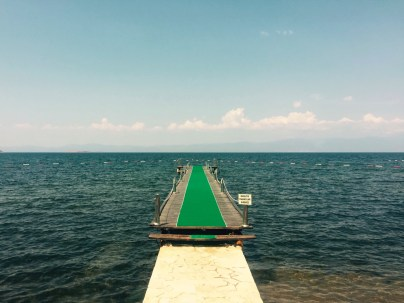 Swimming platform, Turkey