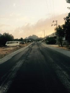 Road on Datca peninsular, Turkey