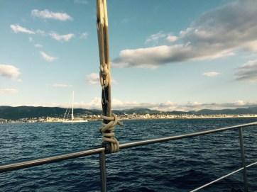 Approaching Majorca, Palmer