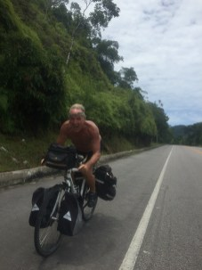 Jim Moser wildman of the road, Cycling the BR-101, Brazil