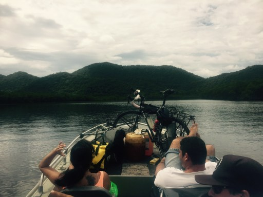 Water taxi from Cananeia to Maraja, Brazil