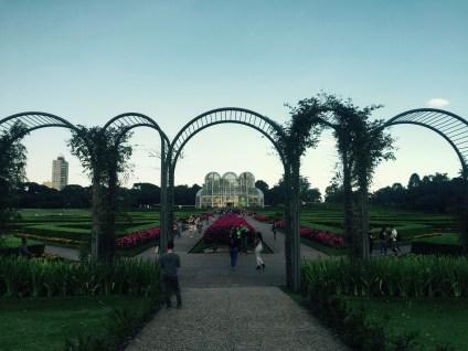 Botanical Garden of Curitiba, Brazil