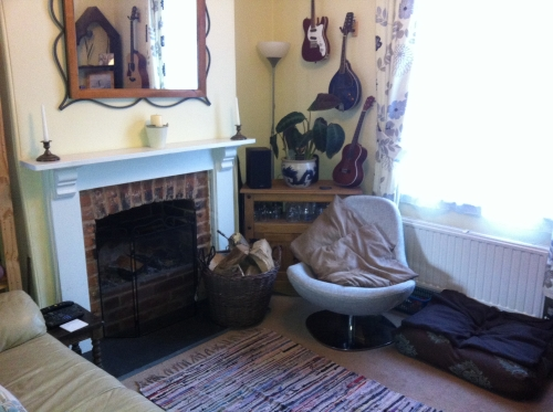 Interior photograph using a smartphone
