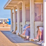 Beach Shelter, Worthing, fine art photographer urban photography herefordshire 1254