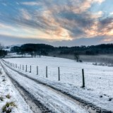 Snowy Lane, Devon, landscapes and nature photographer photography herefordshire 6321