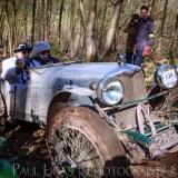 Vintage car hill climbing, Ledbury, Herefordshire event photographer photography 9315