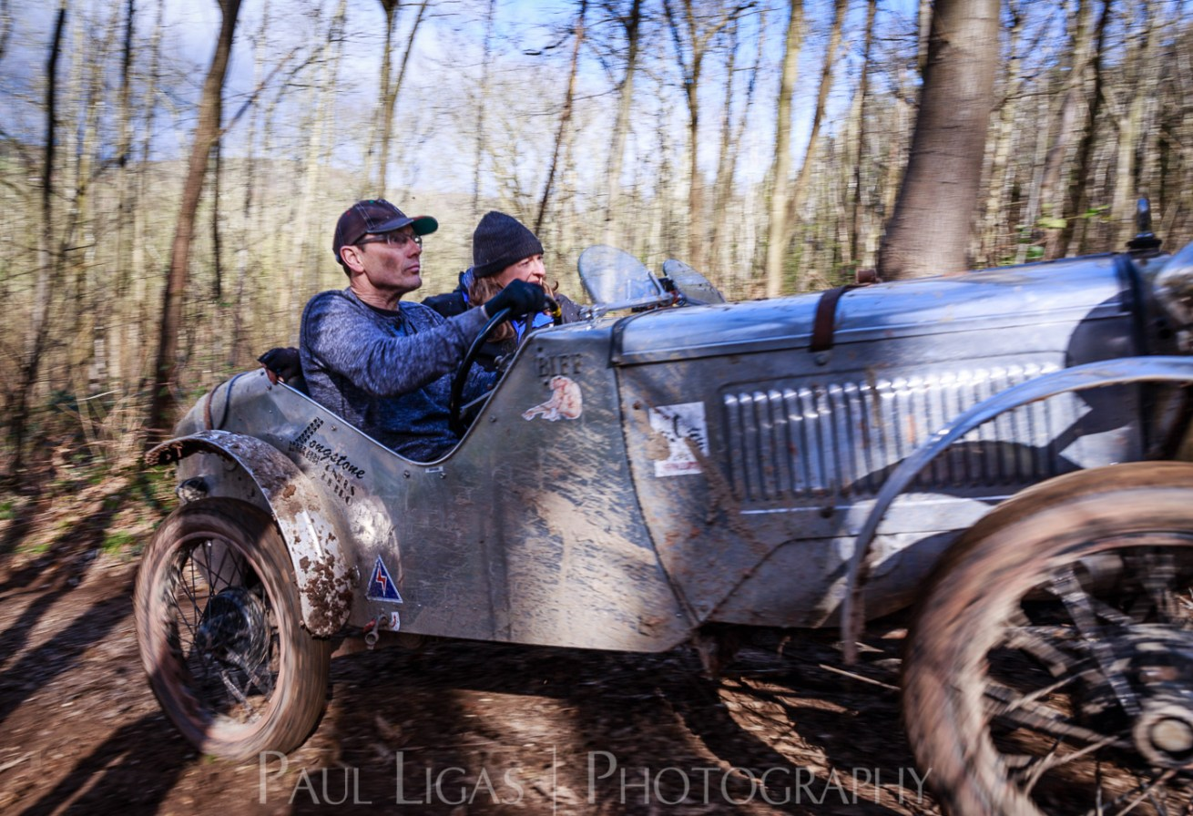 Vintage car hill climbing, Ledbury, Herefordshire event photographer photography 9349