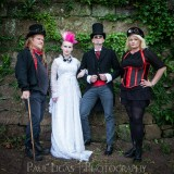 The Mysterious Freakshow band photographer photography music portrait steampunk herefordshire 4625
