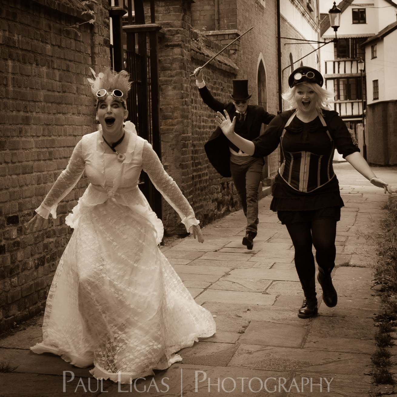 The Mysterious Freakshow band photographer photography music portrait steampunk herefordshire 4808