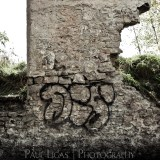 Graffiti in Elora, graffiti and decay urban photographer photography herefordshire 1996