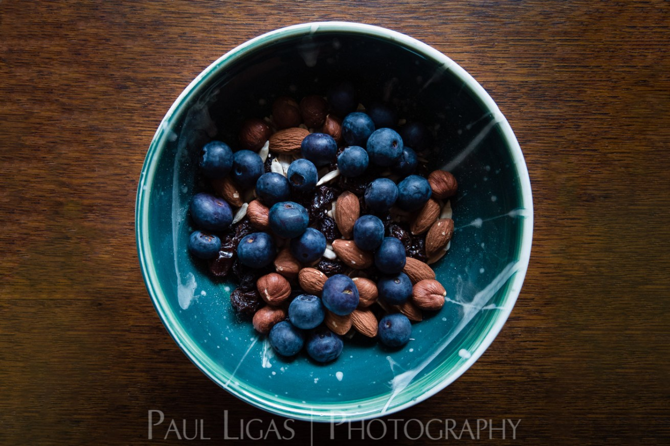 Food photography photographer lifestyle Hereford blueberries and nuts-0331