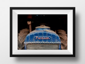 Paul Ligas Photography Print Fordson Tractor mock up