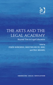 Arts and the Legal Academy book cover