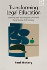 Transforming Legal Education book cover