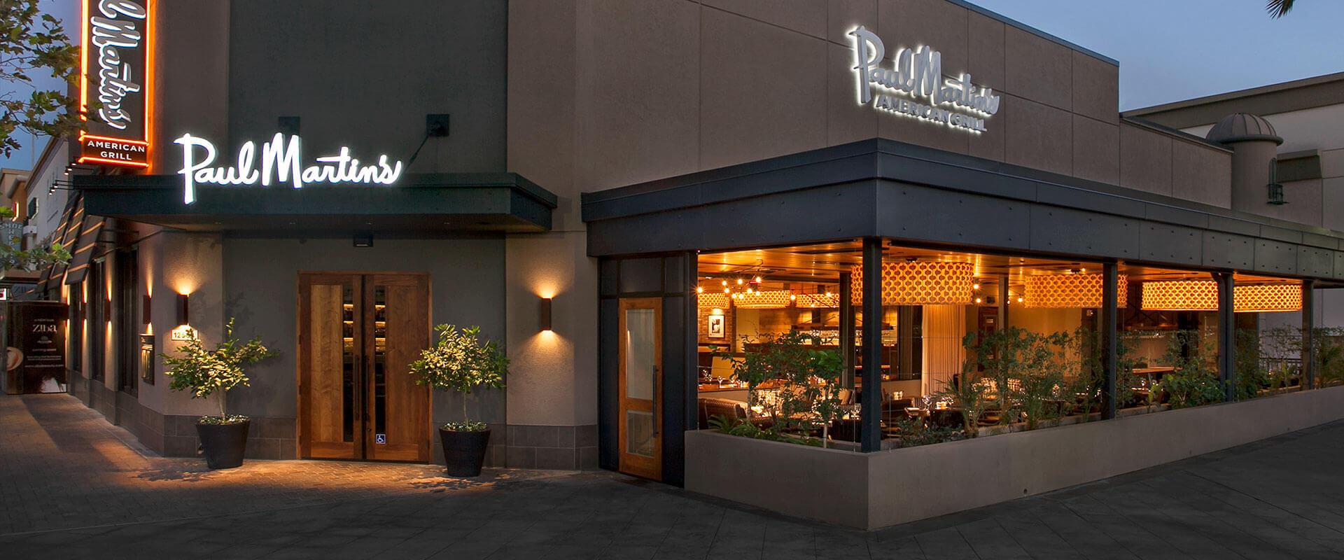 Rancho Cucamonga Restaurant | Paul Martin's American Grill