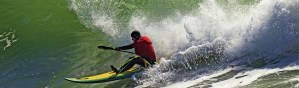 Wave Ski Surfing.