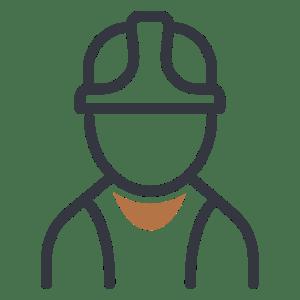 Builder Person Icon