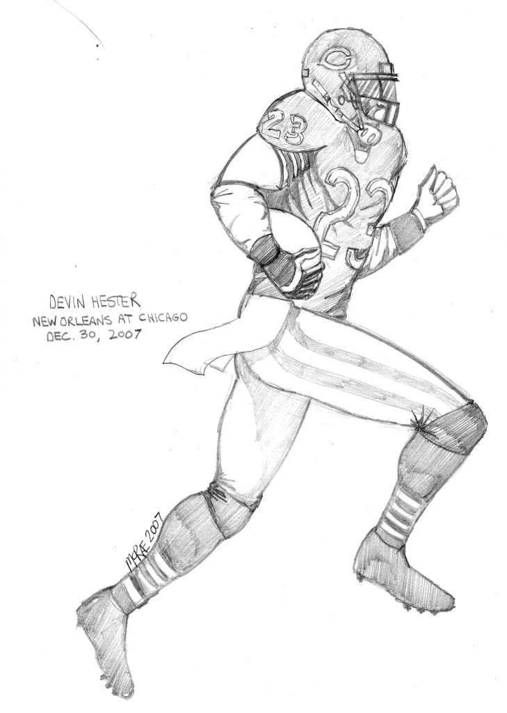 The Devin Hester Coloring Experiment