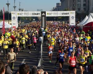 Maratonul International Bucuresti - octombrie 2013
