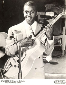 Guess whose father-in-law was the original King of the Blues Guitar?