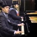 Looking back: a Jools Holland – Dr John boogie duet